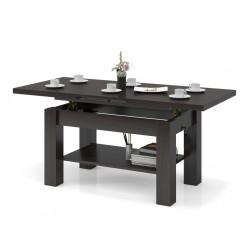 ASTORIA wenge, rozkladacia, zdvíhací konferenčný stôl, stolík