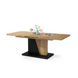 NOIR dub craft zlatý/čierny - rozkladací, konferenčný stolík